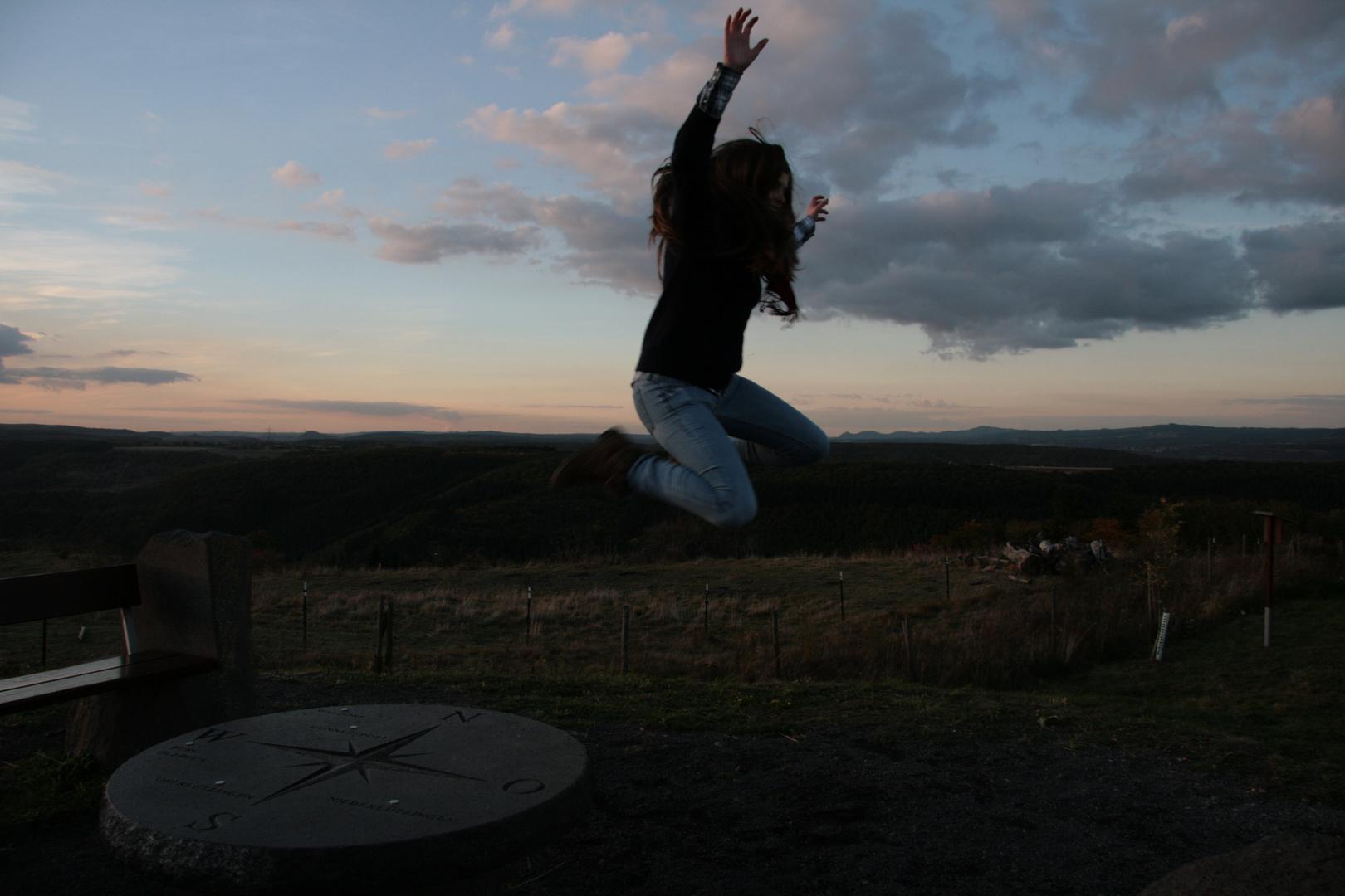 Komm und hilf mir fliegen, leih mir deine Flügel :) !