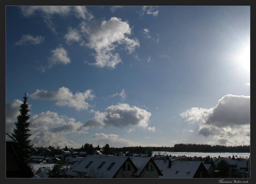 Kommt da etwa noch mehr Schnee?