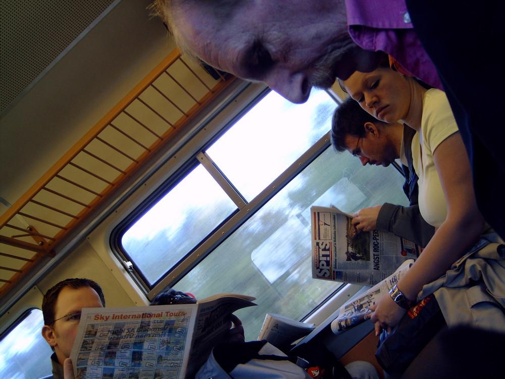 Kommunikation im Zug