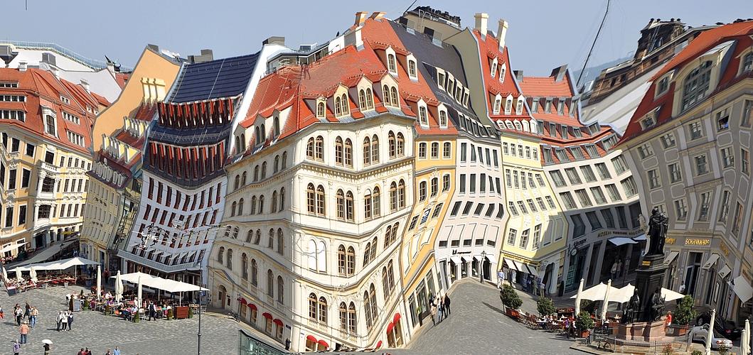 Komposition Dresdener Neumarkt