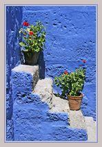 Komposition in Blau