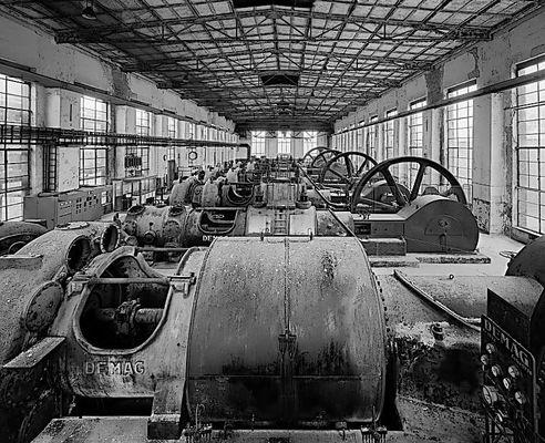 Kompressorenhalle Kokerei Hansa
