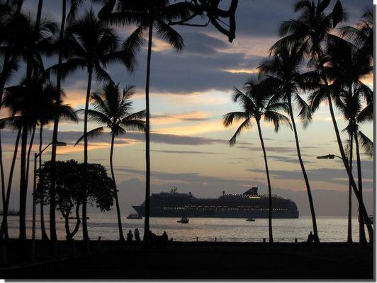 Kona, Big Island Januar 2006