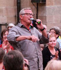 Konstantin Wecker 6.6.15 Stuttgart +Margot Käßmann Frieden