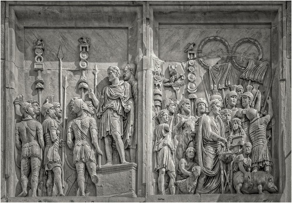 Konstantinbogen - Detail I