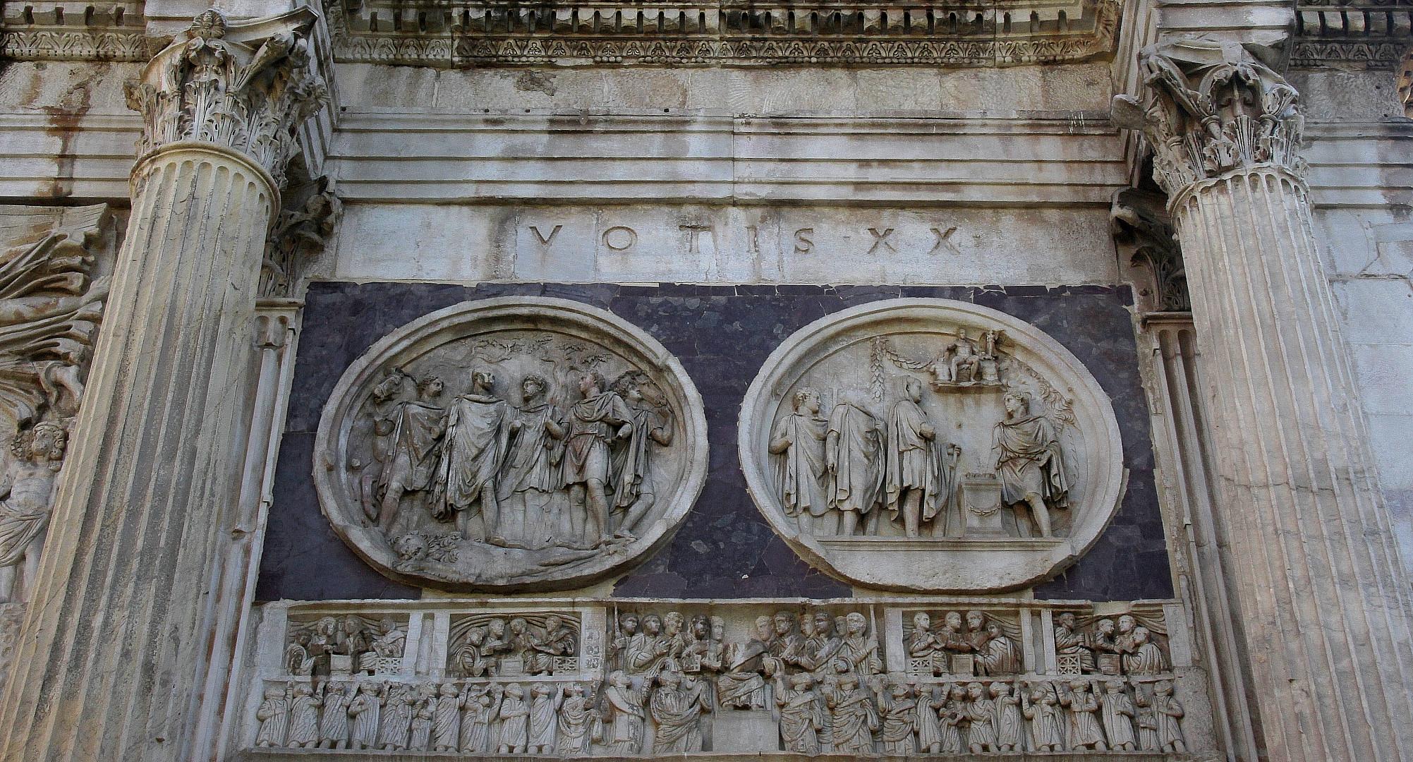 Konstantins-Bogen [ Detail rechts ]