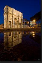 Konstantinsbogen beim Colosseum - Rom