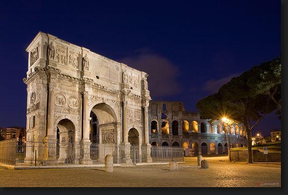 Konstantinsbogen - Rom