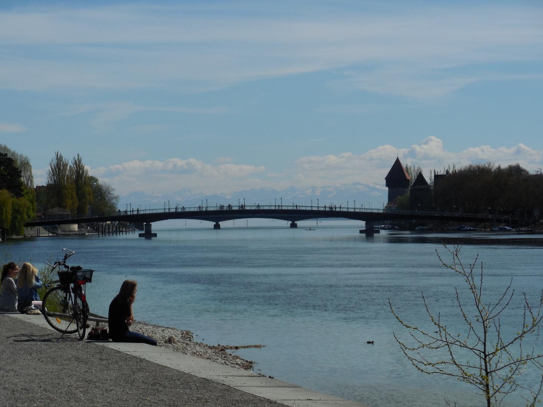 Konstanz, an einem wunderschönen Tag