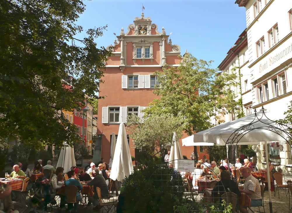 """KONSTANZ - Gemütliches """"Plätzle"""" am Obermarkt"""