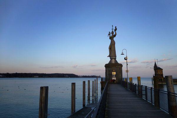 Konstanz Imperia - Abendstimmung