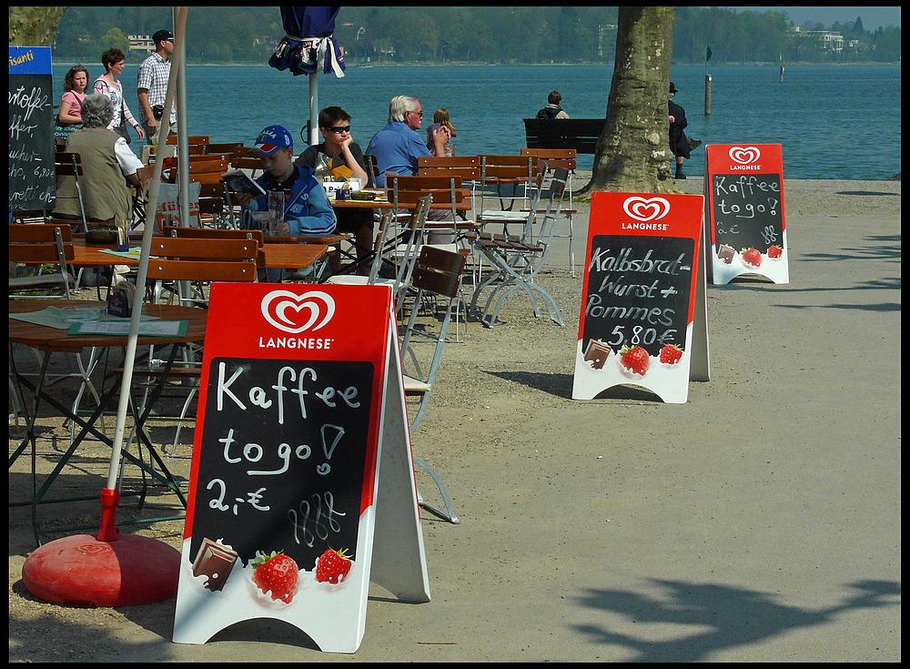 Konstanz - Kaffee to go