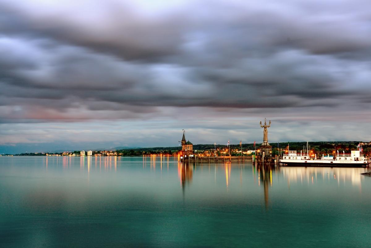 Konstanzer Hafeneinfahrt