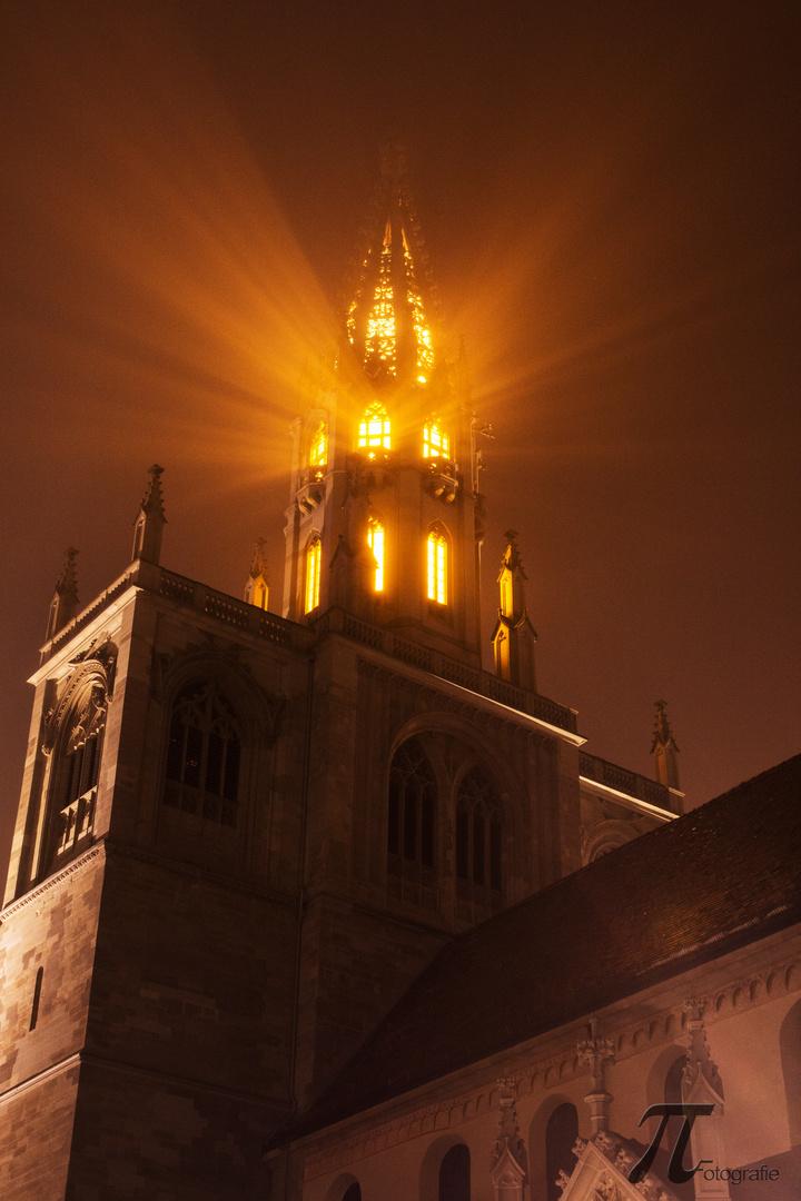 Konstanzer Münster bei Nacht