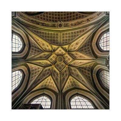 """Konstanzer Münster """" Blick zum Gewölbe aus meiner Sicht..."""""""