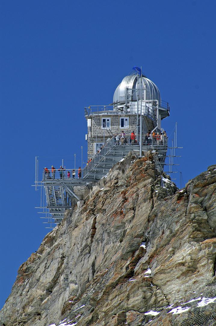 Kontakt zum Himmel gesucht - Observatorium auf dem Jungfraujoch