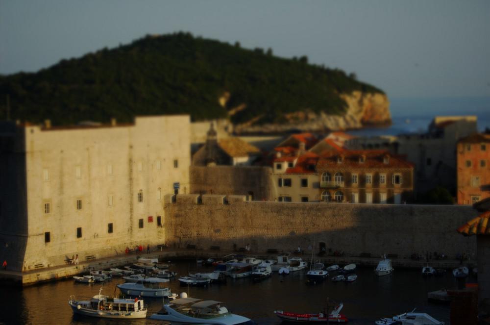 Kontor Dubrovnik in Tilt-Shift