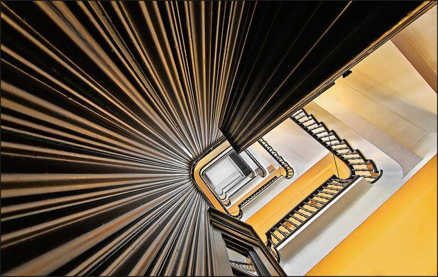 * Kontorhaus Treppe *