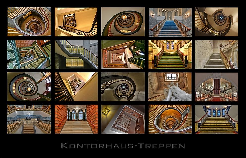 * Kontorhaus-Treppen **