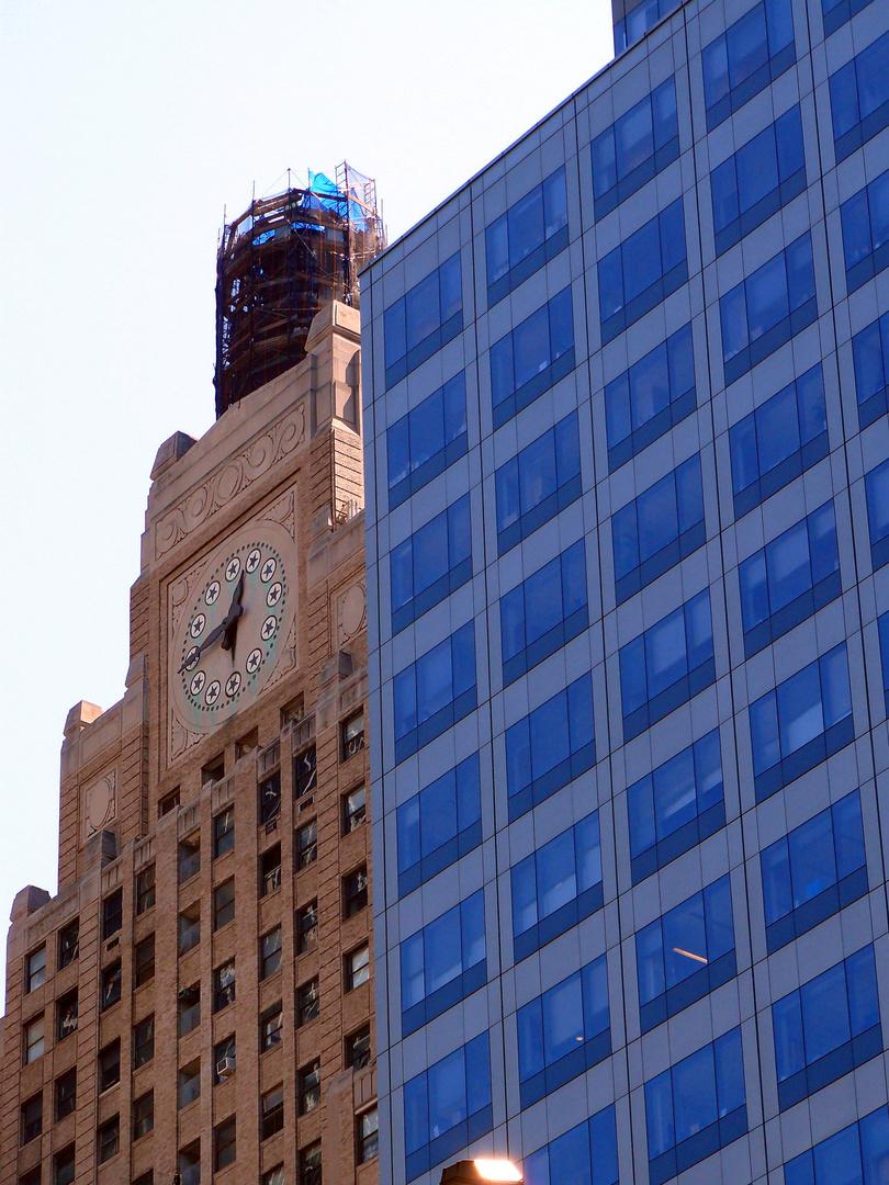 Kontrast Alt gegen Neu NYC