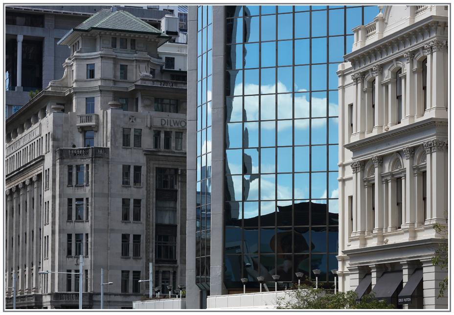 Kontraste der Architektur