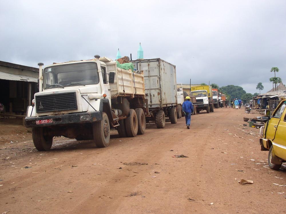 Konvoi durch Guinea