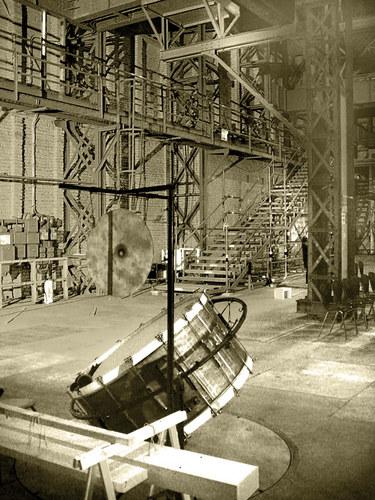 Konzert im ehemaligen Kabelwerk Oberspree Berlin