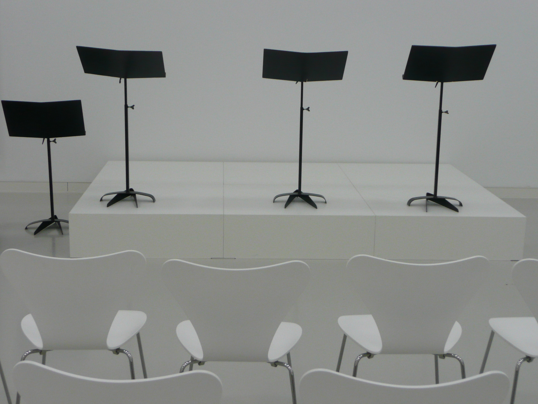 Konzert in schwarz-weiß