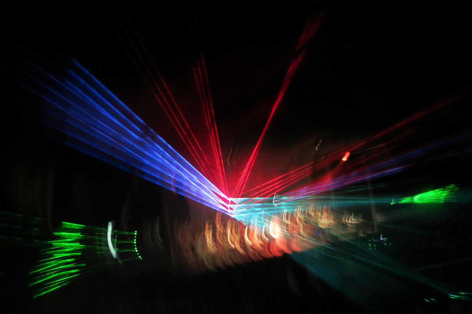 Konzert-Laser