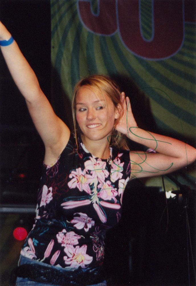 Konzert zum Thüringentag 2002 in Sonneberg in der Jump-Arena