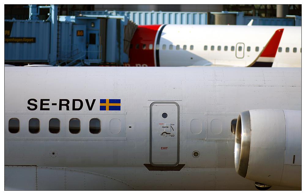 Kopenhagen Airport: McDonnell Douglas MD-83 (DC-9-83)