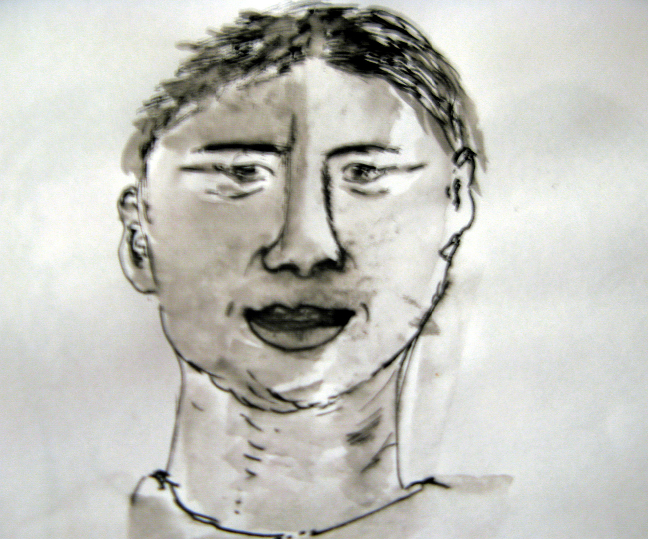 Kopf junger Mann