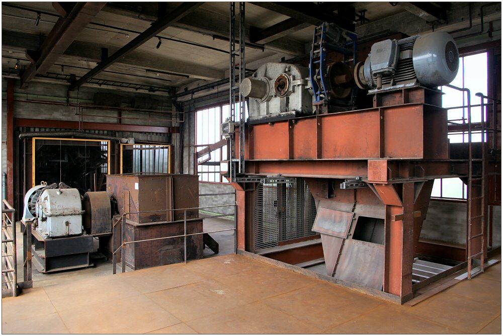 Kopfstation in der Kokerei Zollverein