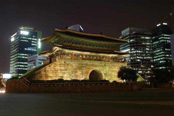 Korea, Seoul, South Gate