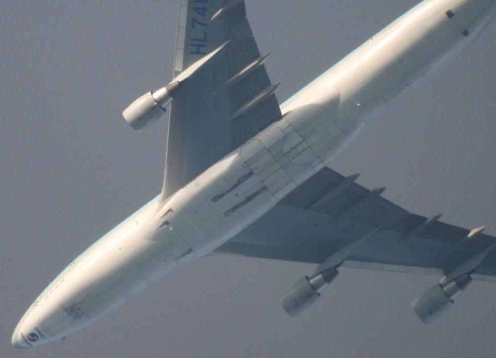 Korean Air Cargo im Teleskop