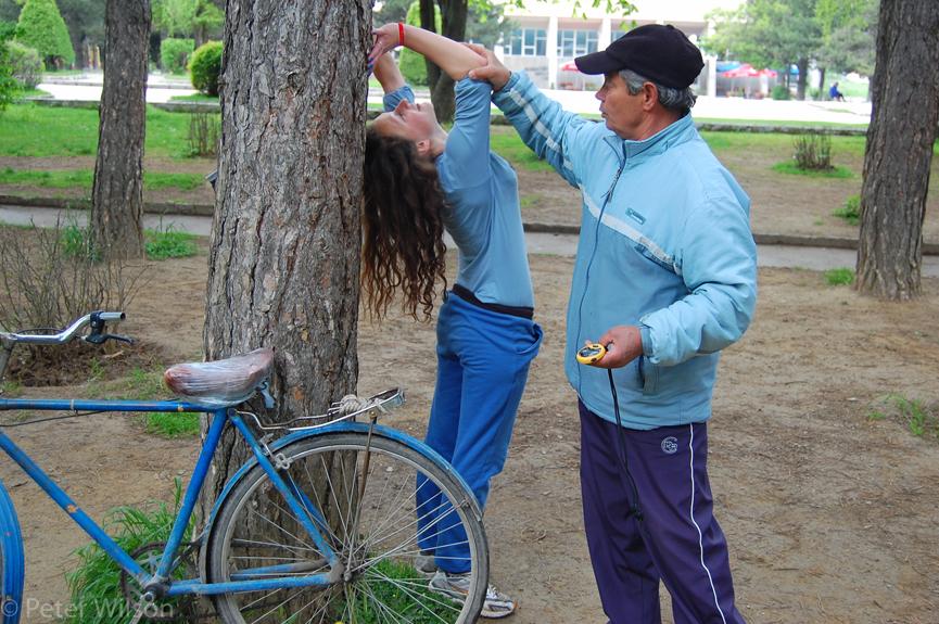 Korçe_Training in Park