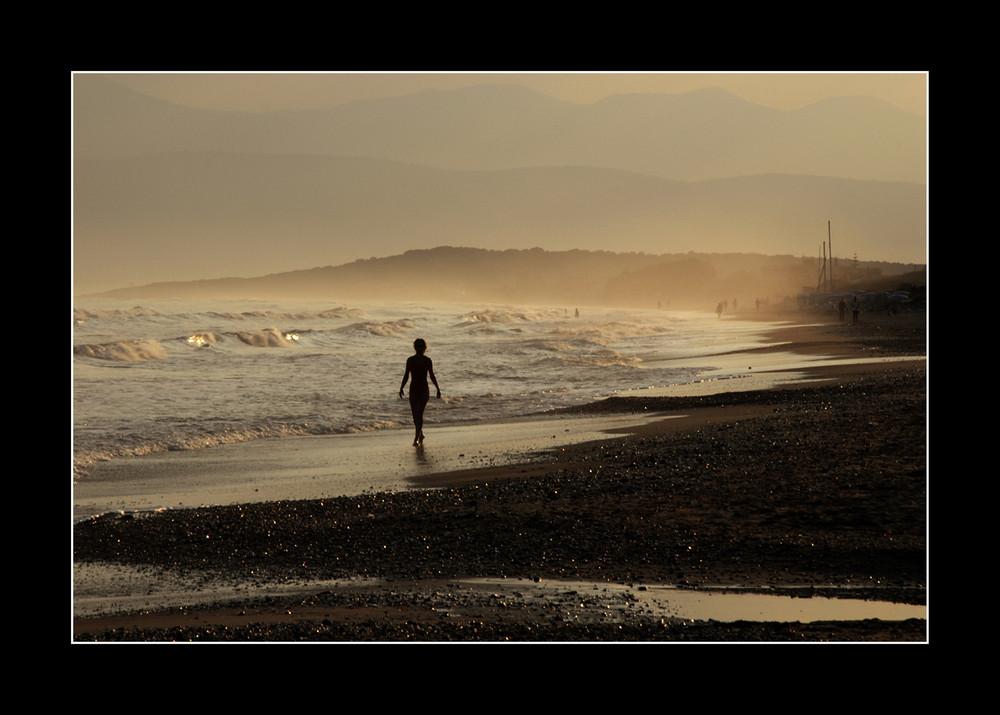 Korfu 4. am Strand von Acharavi, Juli 06