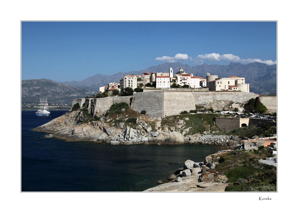 Korsika - Zitadelle von Calvi