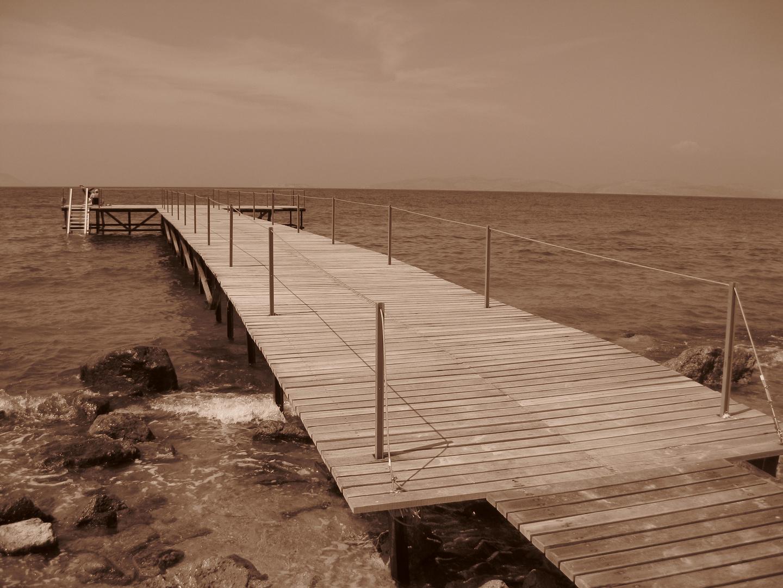 Kos - Blick auf das Meer