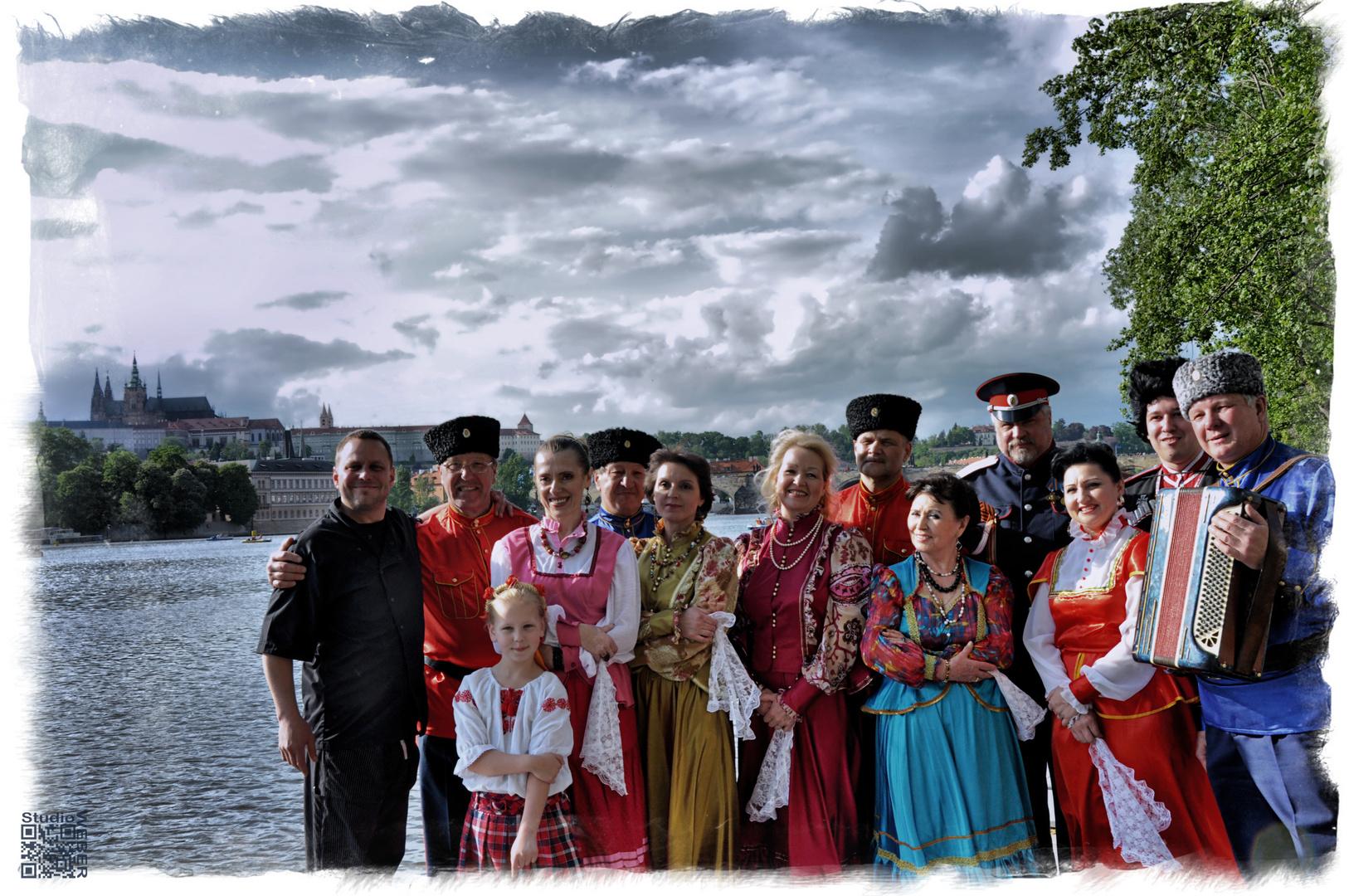 Kosaken in Prag