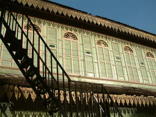 Kota Bharu, Holzhaus