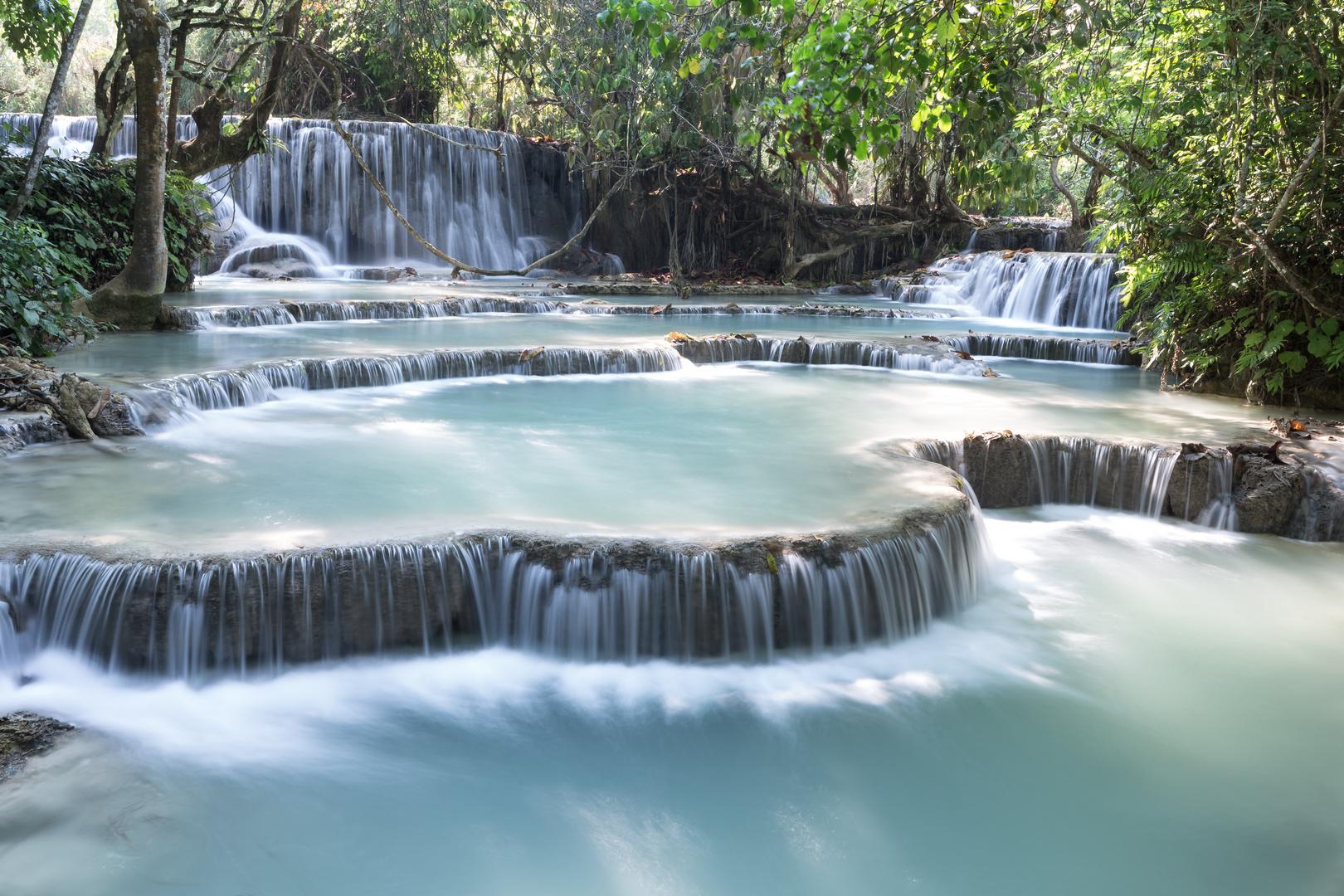 Kouang Si Wasserfall