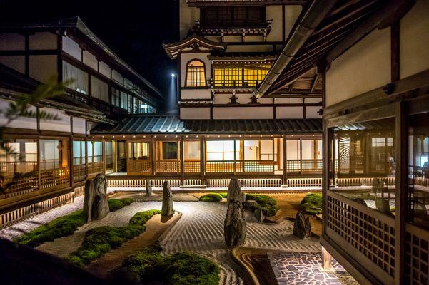 Koyasan Onsen Fukuchi-in, Mt. Koya, Japan