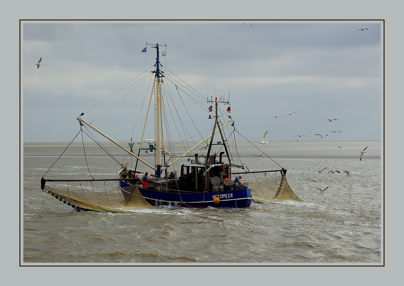 Krabbenfischerboot