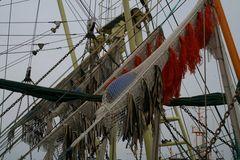 Krabbenkutter im Norddeicher Hafen