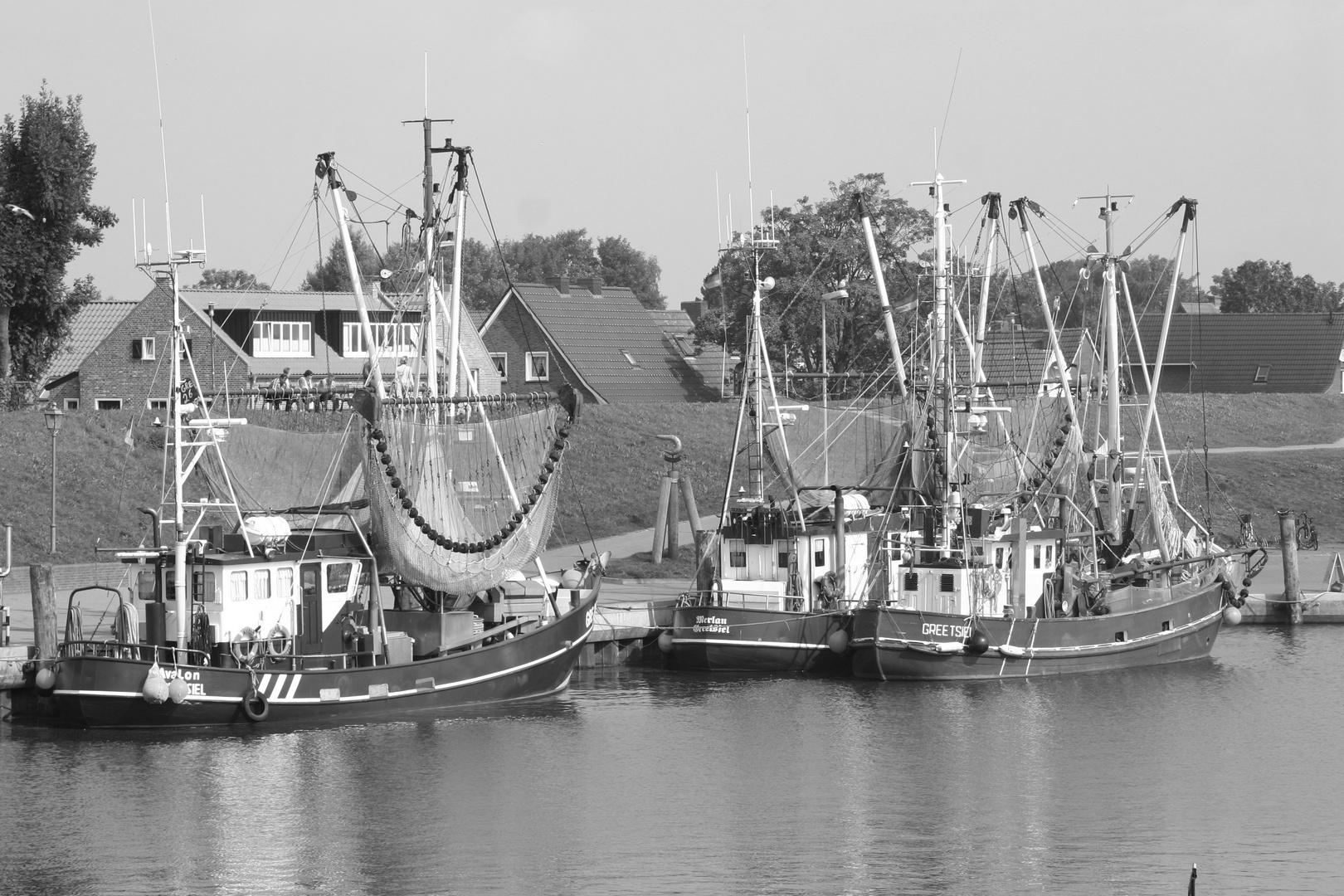 Krabbenkutter in Ostfriesland