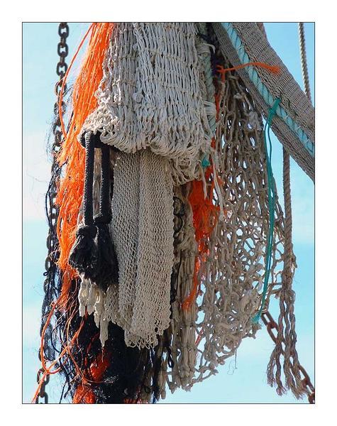 Krabbenkutter-Netz