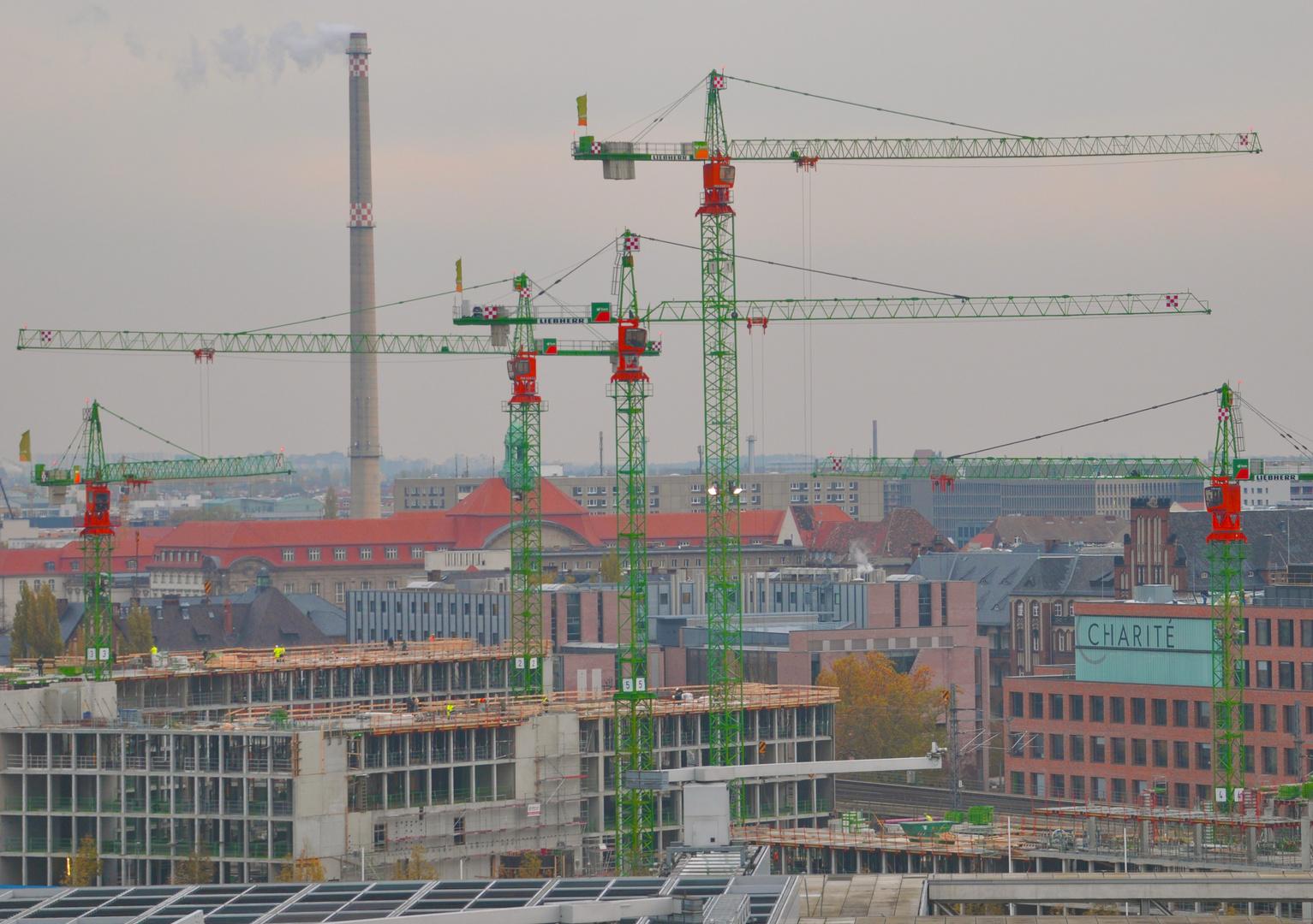 Kräne in Berlin