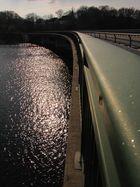 Kräwinklerbrücke an einem April Nachmittag