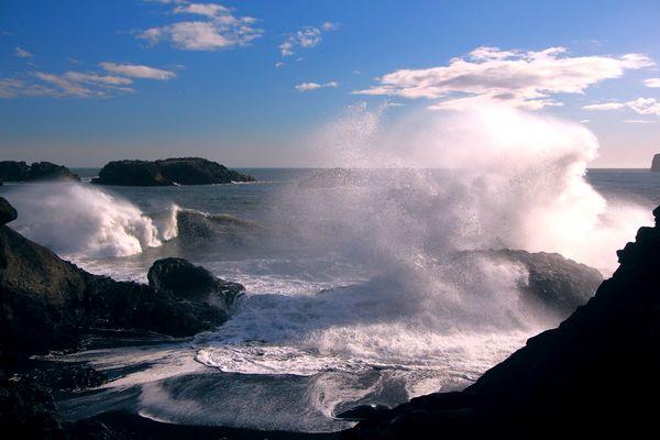 Kraft der Wellen